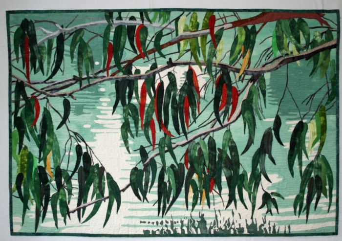 Ann Peterson - Gum Branches over Pond